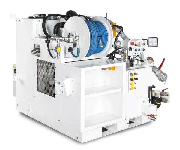 BAROCLEAN SKID BM 400 – Hydrocureur