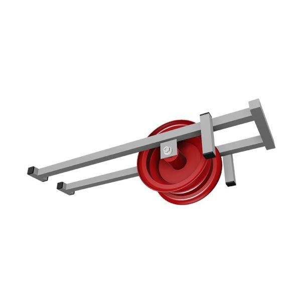 Accessoires assainissement Guidage à galets de tuyau