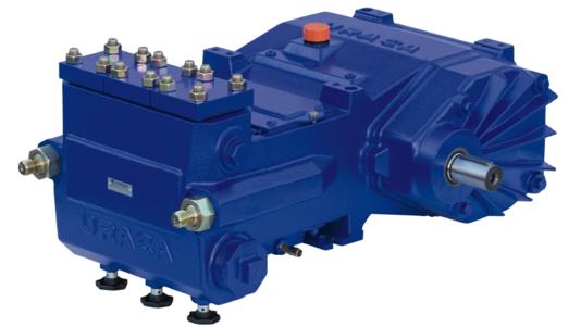 URACA High Pressure Triplex Plunger Pump KD708 Assainisement