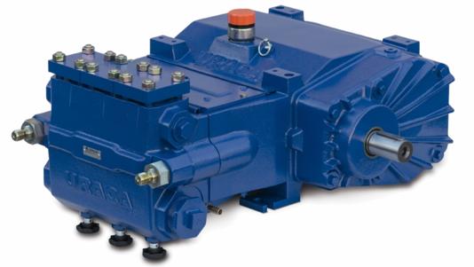 URACA High Pressure Triplex Plunger Pump KD718