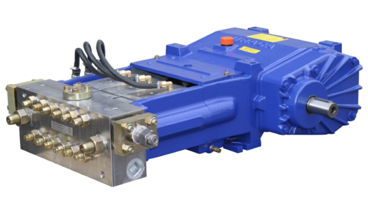 URACA High Pressure Triplex Plunger Pump KD719
