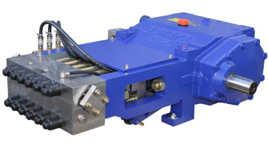 URACA High Pressure Triplex Plunger Pump KD724 Assainisement