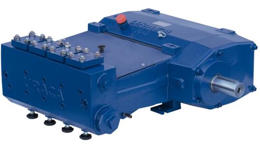 URACA High Pressure Quadruplex Plunger Pump P4-20