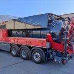 Arrivée dans nos ateliers tksa de notre véhicule de démonstration k ...