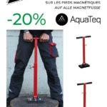 En août, profitez d'une incroyable remise de -20% sur les pieds magnétiques de la marque Aquateq - Profitieren Sie im August von einem aussergewöhnlichen Rabatt von -20% auf alle Magnetfüsse der Marke Aquateq.