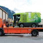 Première semaine de démonstration très prometteuse de notre ravo électrique effectuée la semaine passée auprès de la Ville de Genève.