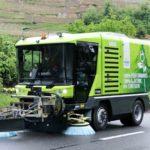 ravo 5 eSeries - Die erste 100% elektrische Kehrmaschine ihrer Klasse // Die Swiss-Tour der elektrischen Ravo startet immer noch durch! Die Ravo hält, was sie verspricht.